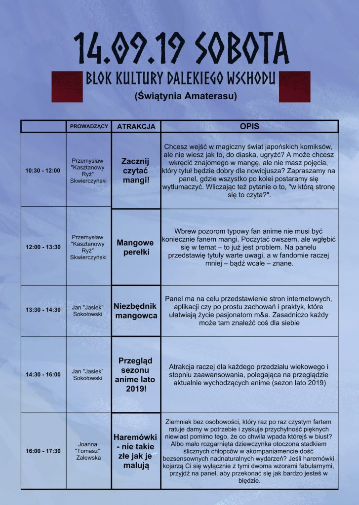 PROGRAMY NA SALE 12.09-8-1